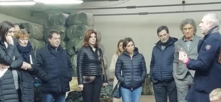 Ministero dell'ambiente e Ispra in visita al distretto tessile pratese